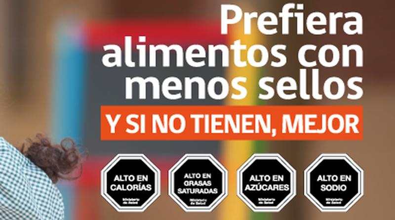 En Chile entrará en vigor la segunda etapa de su normativa sobre etiquetado contra la obesidad