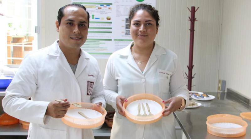 Cubiertos comestibles: creación de estudiantes mexicanos